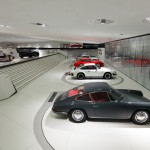 porsches on display at museum identity exhibit