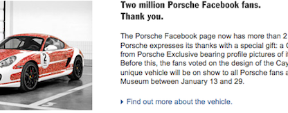 Have You Found Your Picture on the New Facebook Porsche