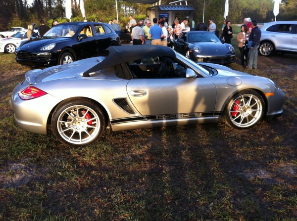 We got to lead the Porsche group drive in this amazing Boxster Spyder