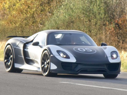 Porsche 918 Official Photos and Specs of the Preliminary  Prototype