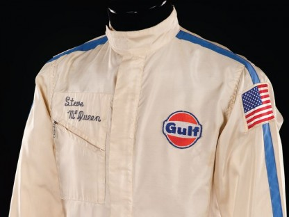 Steve McQeens Simpson Nomex fire-resistant race jacket from Le Mans