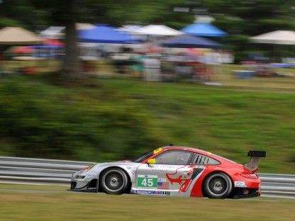 Porsche Results and Pictures in the ALMS at Lime Rock