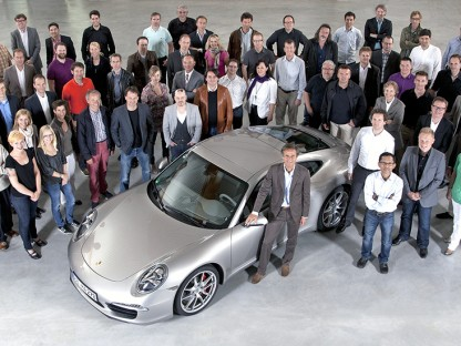 Michael Maure and the Style Porsche Design Team