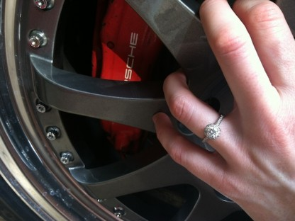 Porsche Engagement Ring