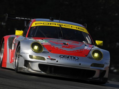 Porsche Results and Pictures in the ALMS at Mid-Ohio