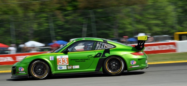Green Hornet Racing Porsche at Mid-Ohio