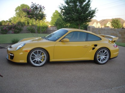 yellow 2008 Porsche 911 GT2 for sale