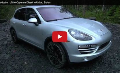 Introduction of the Cayenne Diesel to the United States [Video]