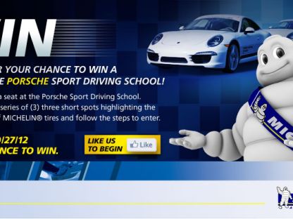 Enter for a Chance to Win a Trip to the Porsche Sport Driving School From Michelin