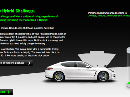 What is the Porsche Hybrid Challenge?