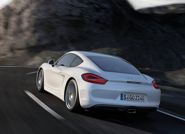 2014 Porsche Cayman in White