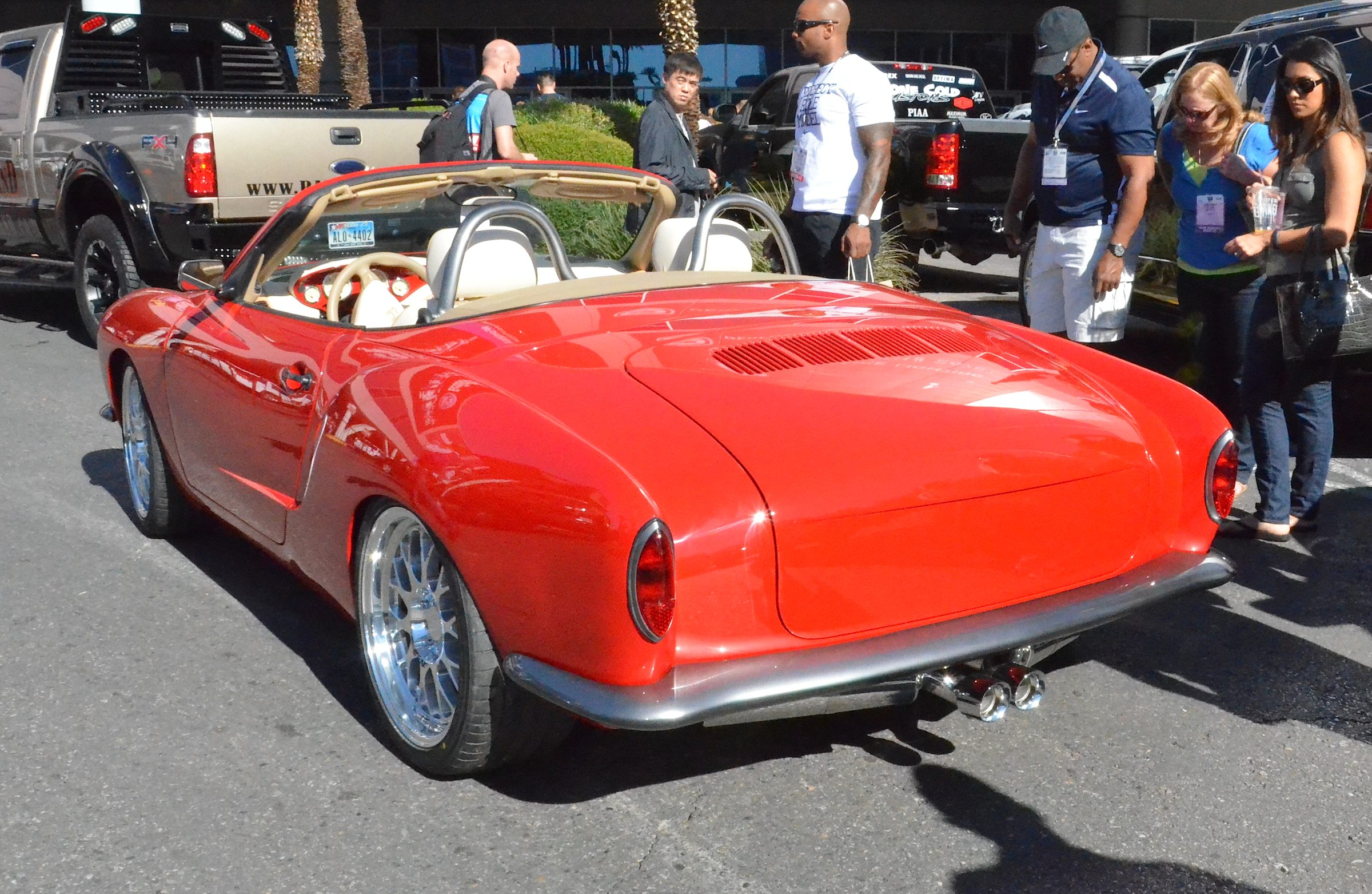 Porsche Customizer Puts a 1972 Karmann Ghia on a Boxster S ...