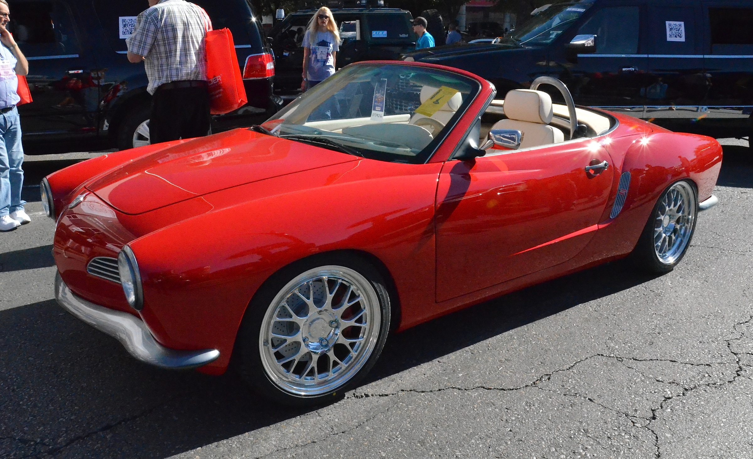 Porsche Customizer Puts a 1972 Karmann Ghia Body on a Boxster S