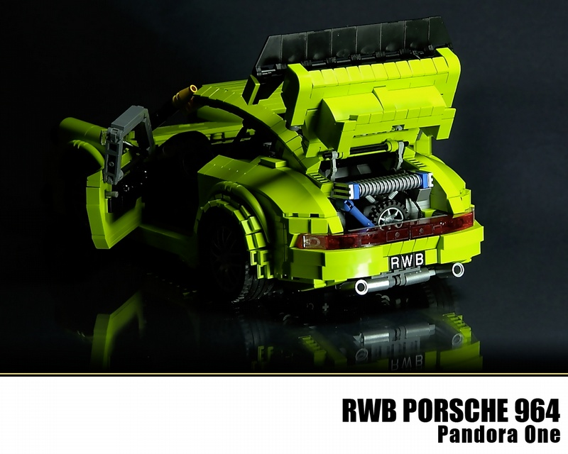 A Rauh Welt Begriff Porsche Made From Legos Flatsixes
