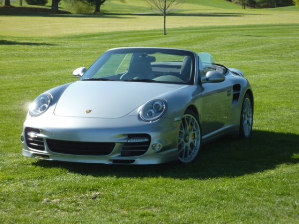 GT silver 2011 Porsche 911 Turbo S cabriolet for sale
