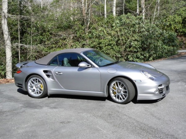 2011 Porsche 911 Turbo S cabriolet top up for sale