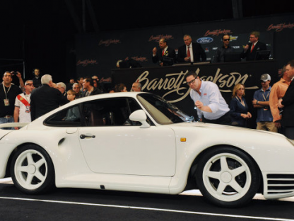 Porsche 959 Prototype Sells for $440,000.  Watch a Replay of the Auction