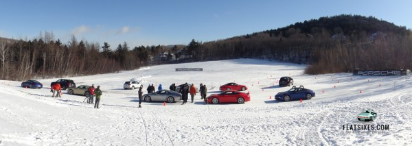 track time at the Porsche winter Driving Experience