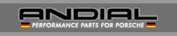 Andial performance parts for Porsche