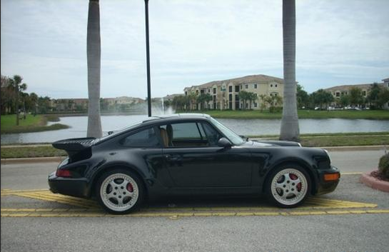 Porsche on AutoTrader.com claiming to be the Bad Boys Porsche