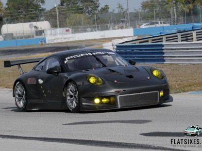 Pictures and Details of the new Porsche 991 RSR Testing at Sebring
