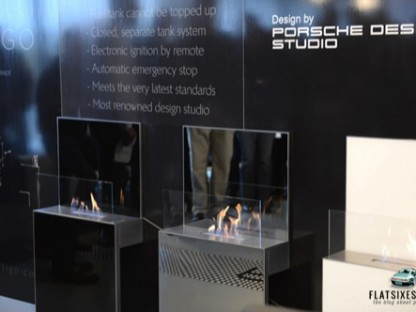 Porsche Design Vertigo Fireplace