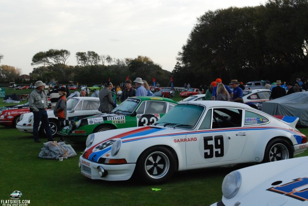 Besides making Daytona, the replica was also a contender on the Concours at Amelia Island last week