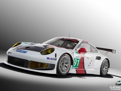 Porsche 911 GT3 RSR Officially Revealed