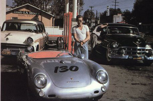 Is This The Final Picture Of James Dean In His Porsche 550