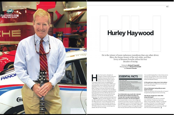 Hurley Haywood in Total 911