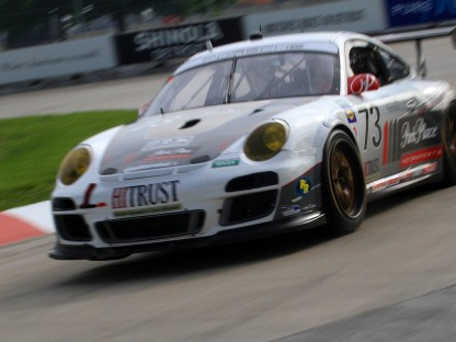 Porsche's Results from the GRAND-AM Detroit 200