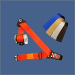Coloured Seat Belts