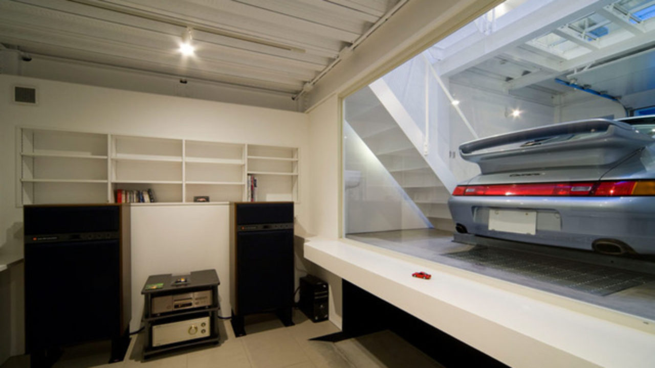 Would You Design Your House Around Your Porsche? This Guy