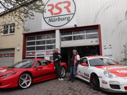 "Watch the ""Queen"" of the Ring, Sabine Schmitz, Race a 570hp Ferrari in Her Personal 450hp Porsche GT3 RS"