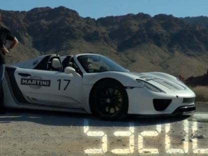 Porsche 918 Spyder Prototype Approaching a Million Miles of Testing