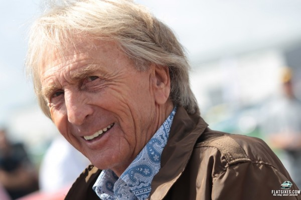 Derek Bell enjoyed the fantastic celebration of the Porsche 911