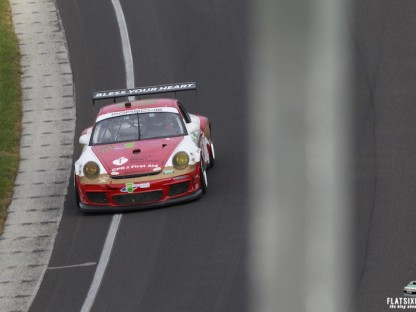 Porsche's Results and Pictures from the GRAND-AM's Brickyard Grand Prix at Indianapolis Motor Speedway