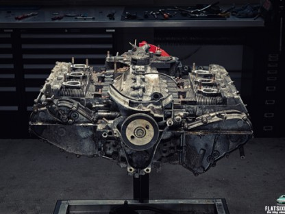 Stop Motion Tear-Down of Porsche Carrera 3.2 Engine Is Worth A 2nd Watch