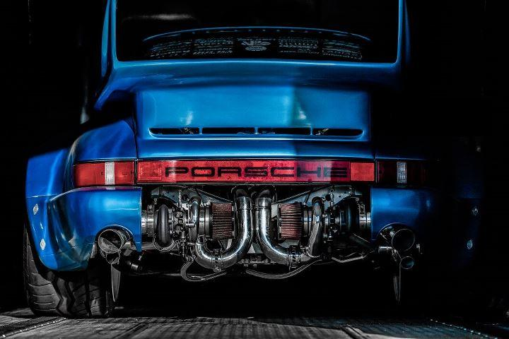 Porsche Driving School >> Bisi Lets the Twin Turbos on This 771 Horsepower 1976 ...