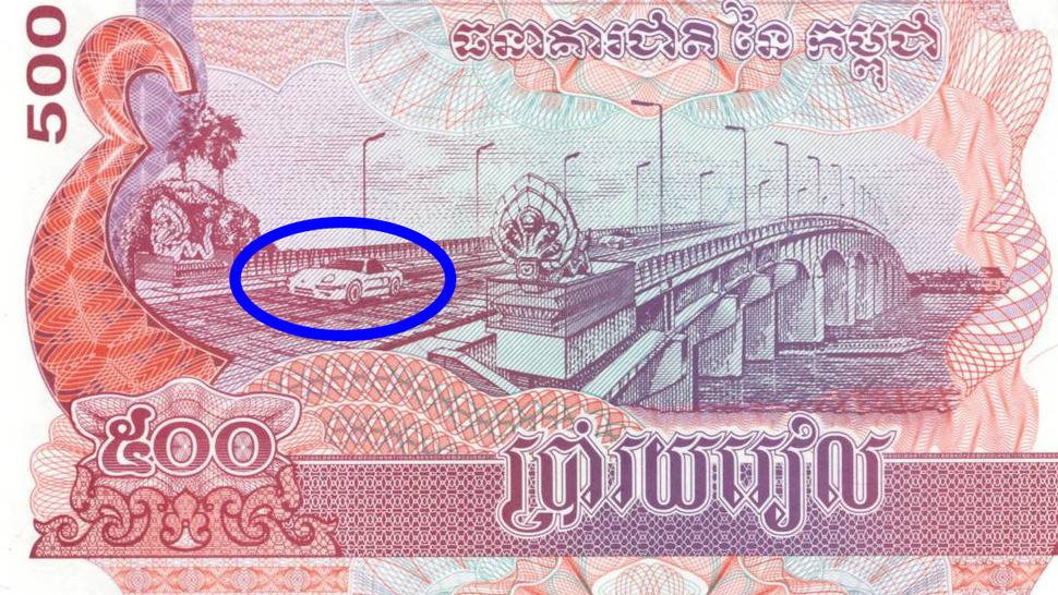 Does Cambodia Really Have A Porsche On Their Money Flatsixes