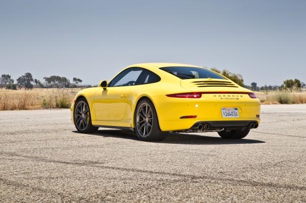 2013-Porsche-911-Carrera-4S-rear-three-quarters