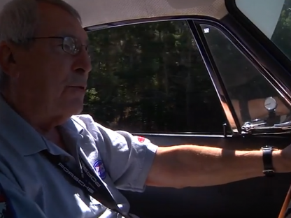 Vic Elford Explains Balance in the Around the World Porsche 911