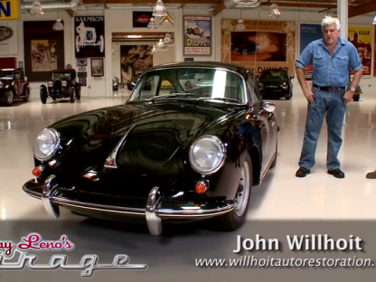John Willhoit of Willhoit Restoration on Jay Leno's Garage