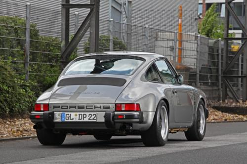 rear of a porsche 911 sleep