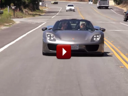 Listen to the Cacophony Created by the Porsche 918 as it Switches from All Electric to Gas Power