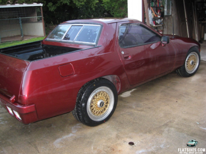 This Is What Happens When You Cross a Porsche 928 With An El Camino