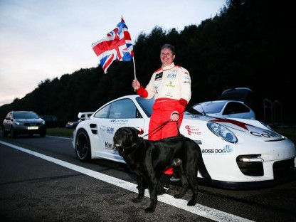 Blind Land Speed Record Broken By Mike Newman In A Porsche 911 GT2