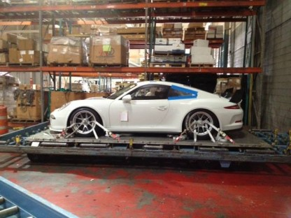 porsche 911 gt america delivered Magnus racing