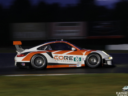 Porsche's Results and Pictures In The ALMS Season And Series Final At Petit Le Mans
