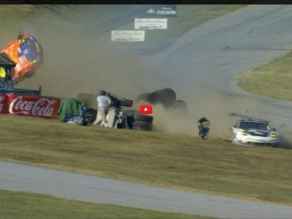 Video: Vicious Wreck Sends Porsche Airborne At VIR